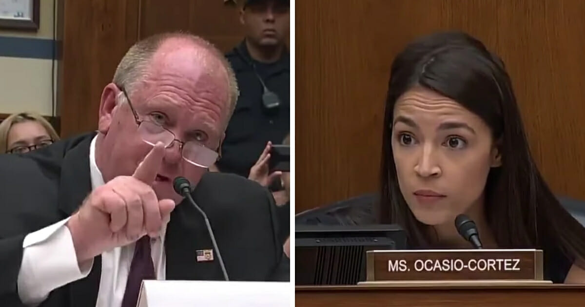 Former Acting ICE Director Sets AOC Straight: Americans Who Break Law Separated from Children Too