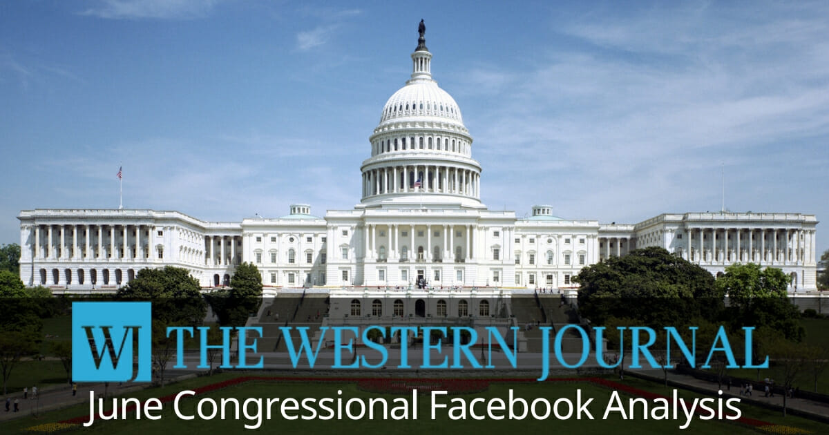 By the Numbers: Here's How Members of Congress Did on Facebook in June