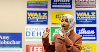 Democratic Rep. Ilhan Omar of Minnesota insisted that she was not anti-Semitic