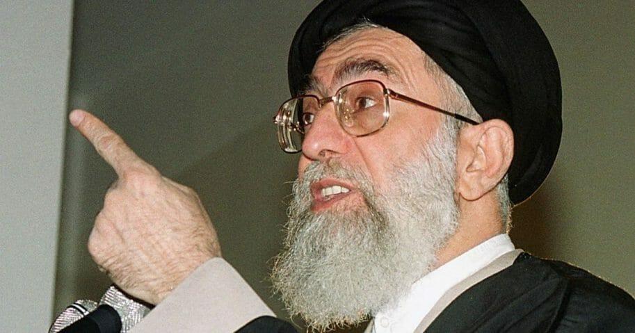 Iranian Supreme Leader Ali Khameini.