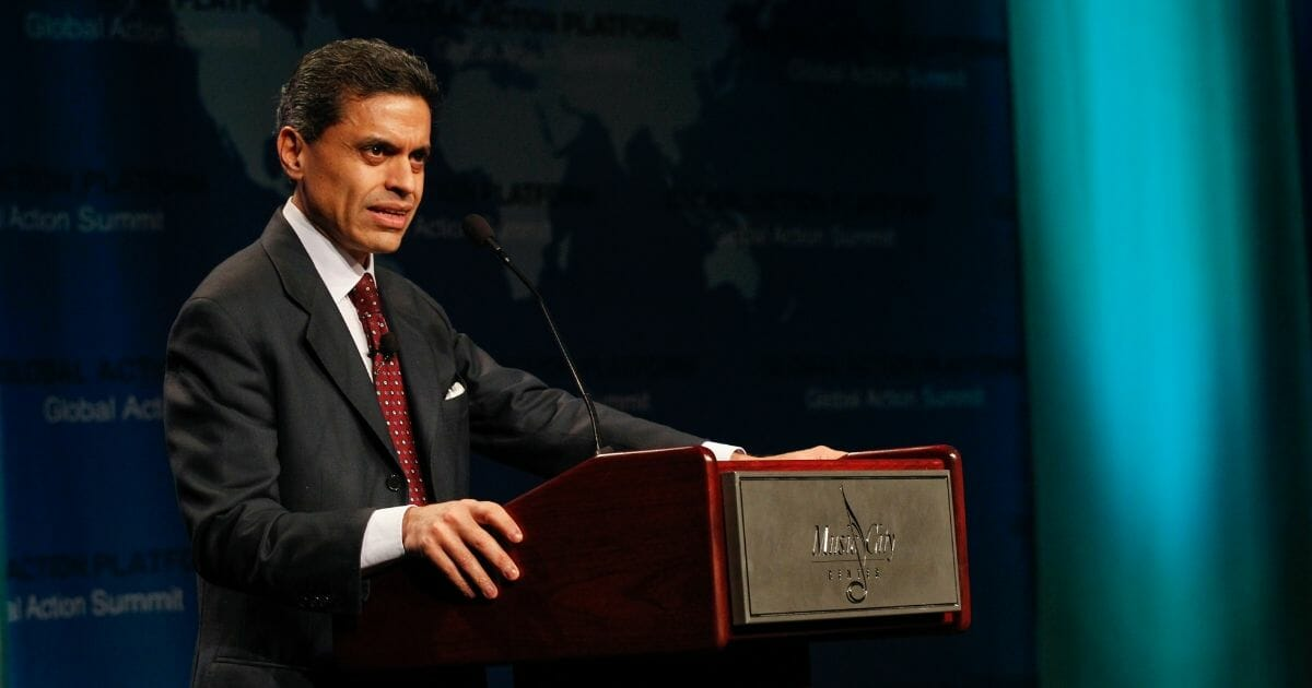 CNN's Fareed Zakaria has admitted that Trump is right on immigration