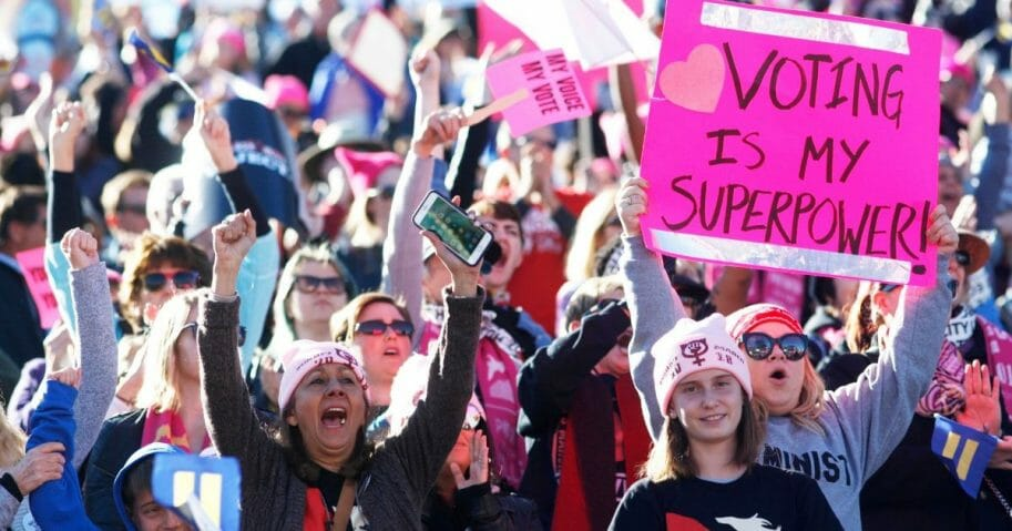 women's march attendees
