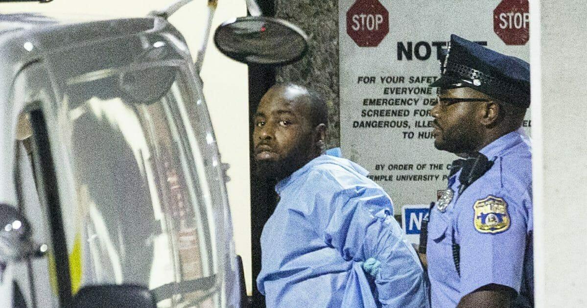 Police take shooting suspect, Maurice Hill, into custody