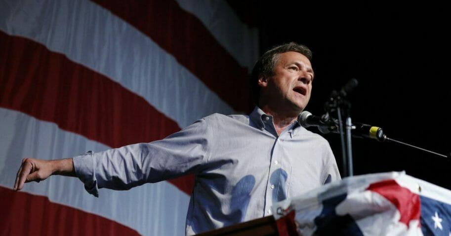 Democratic presidential candidate Montana Gov. Steve Bullock