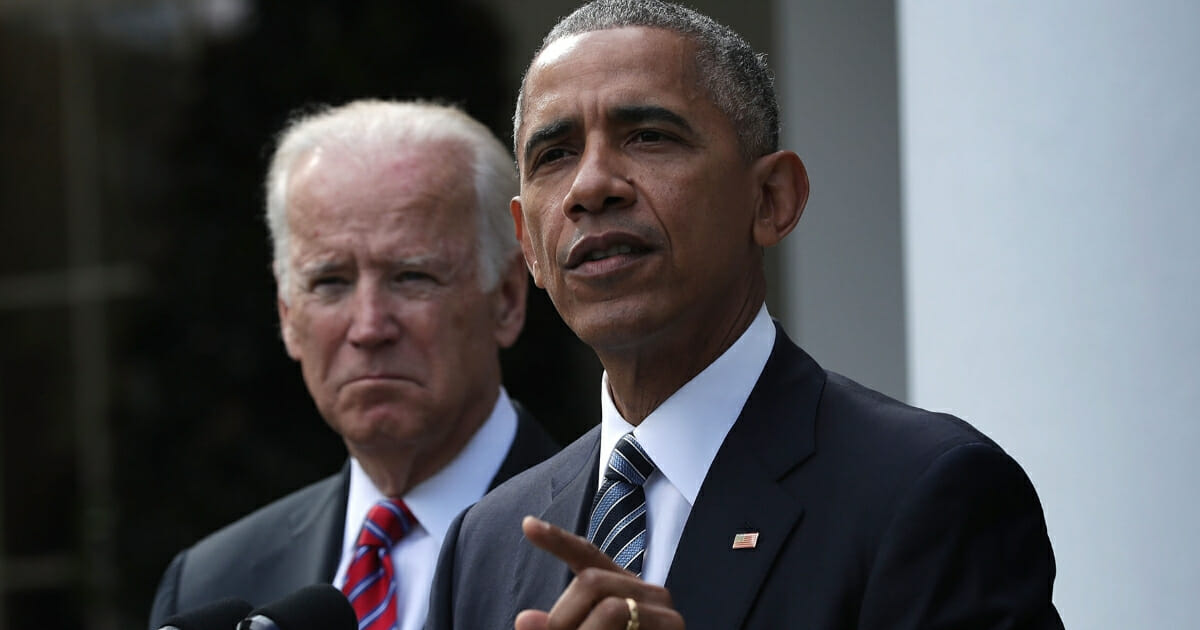 Biden Asks Crowd To Imagine an America Where Obama Had Been Assassinated