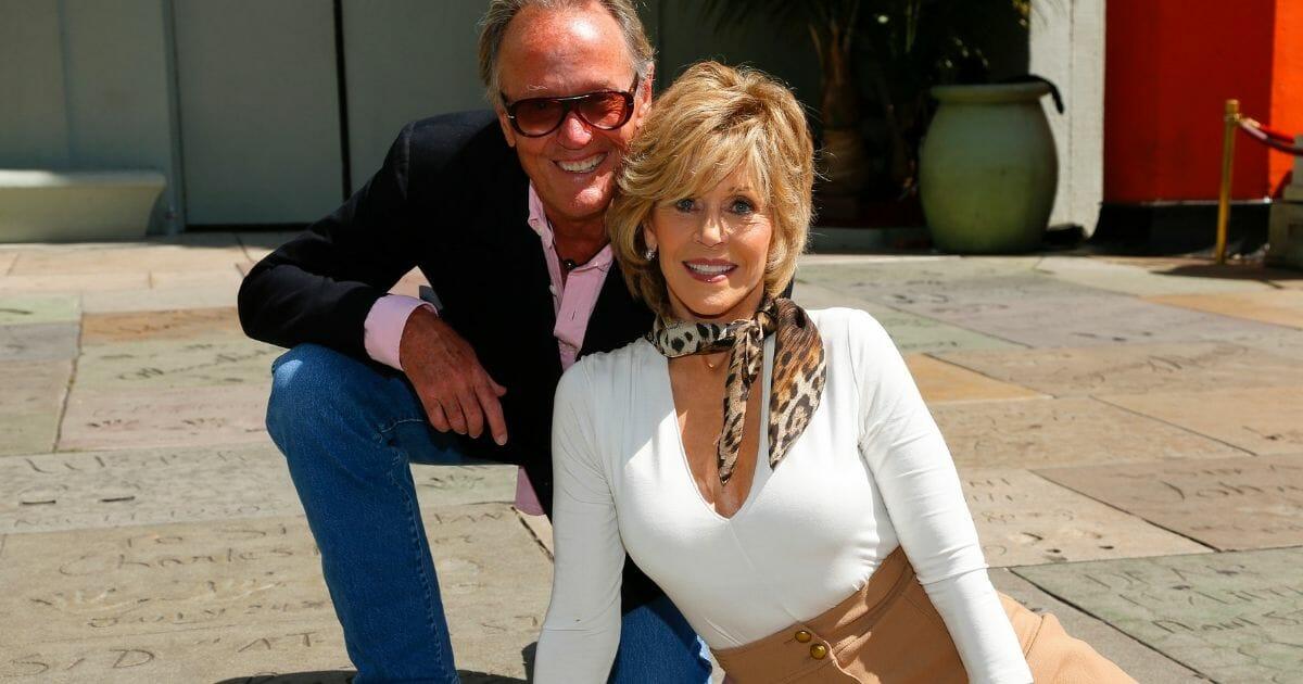 Peter and Jane Fonda