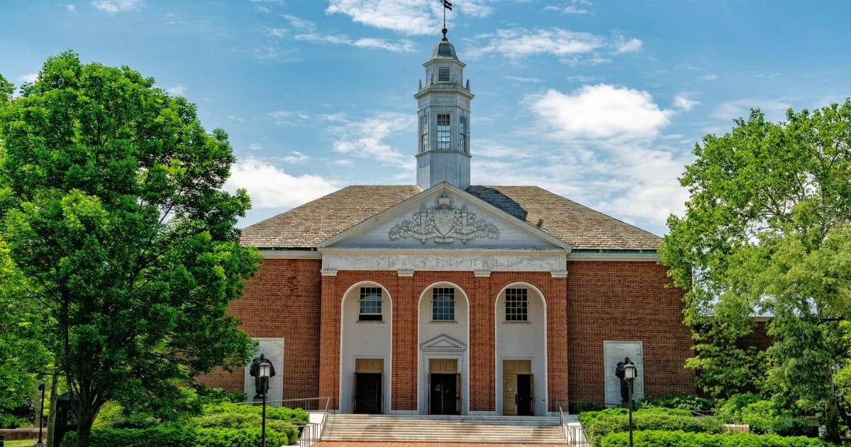 John Hopkins University in Baltimore, Maryland.