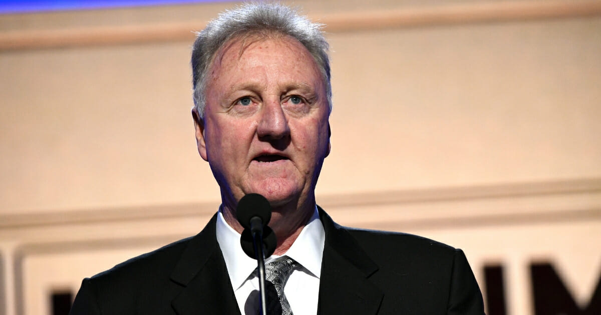 Larry Bird Complains About Artist's Depiction of Him on Large Mural, Convinces Her To Change It