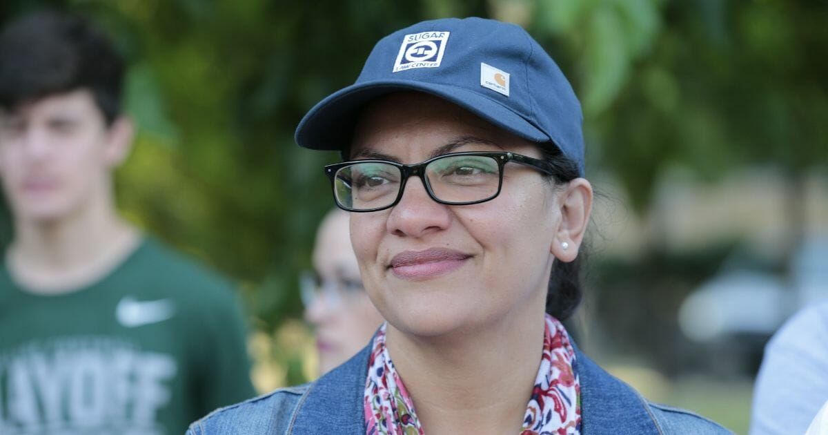 Tlaib Uses 1st Interview After Declining Israel Invite To Attack Trump: 'He's Afraid of Women of Color'