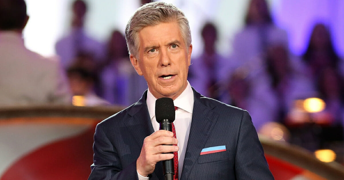Show host Tom Bergeron onstage at A Capitol Fourth concert at the U.S. Capitol, West Lawn, on July 4, 2016, in Washington, D.C