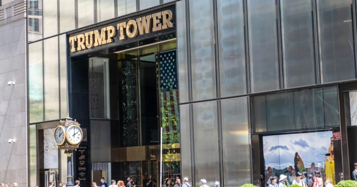 Trump Tower on Fifth Avenue in Manhattan, N.Y.