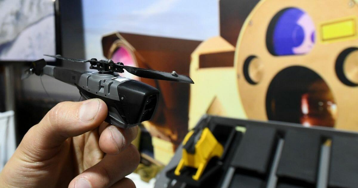 The 'Black Hornet' military drone