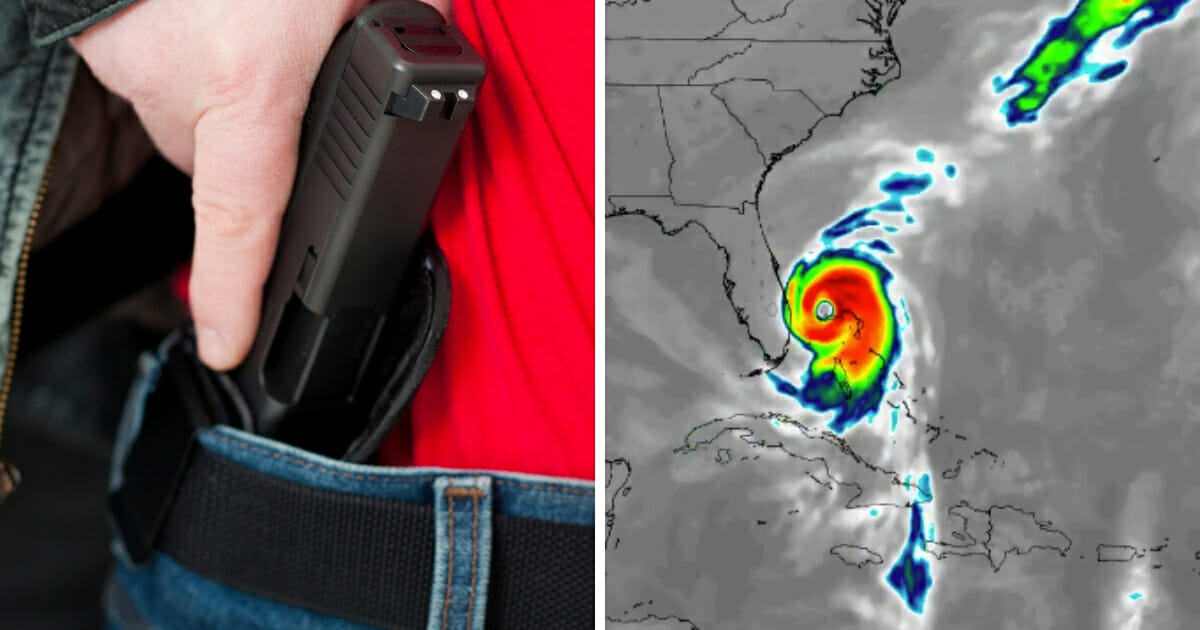 As of early Saturday morning, the hurricane is a Category 4 storm with maximum sustained winds up to 140 miles per hour, according to The Weather Channel. That means a whole lot of mandatory evacuations are likely coming -- and there's an important suspension of a critical gun law that those fleeing the hurricane need to know about.