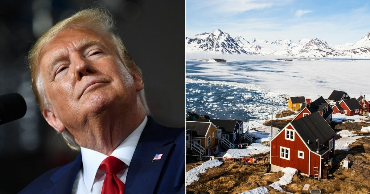 President Donald Trump / Greenland
