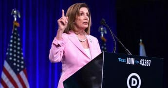 Speaker of the U.S. House of Representatives Nancy Pelosi