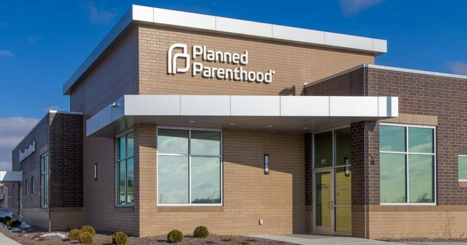 The exterior of a Planned Parenthood clinic.