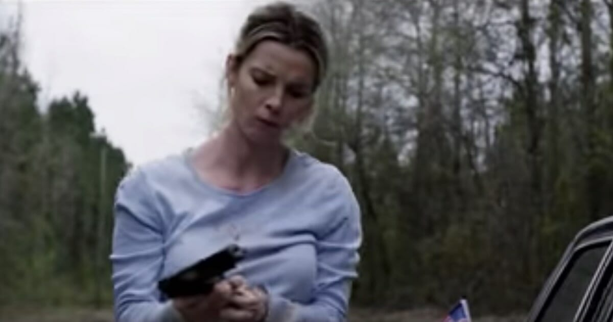 """Screen shot from the trailer for """"The Hunt"""""""