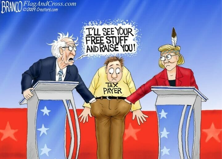 Image result for branco cartoons elizabeth warren