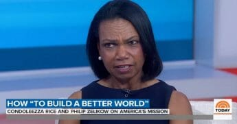 """Former Secretary of State and National Security Advisor Condoleezza Rice answers Savannah Guthrie on NBC's """"Today"""" show on Wednesday."""