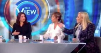 "Another heated political argument on ""The View"" this week had conservative co-host Meghan McCain leaving the set mid-shoot."