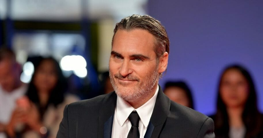 "Actor Joaquin Phoenix attends the ""Joker"" premiere during the 2019 Toronto International Film Festival at Roy Thomson Hall on Sept. 9, 2019, in Toronto, Canada."