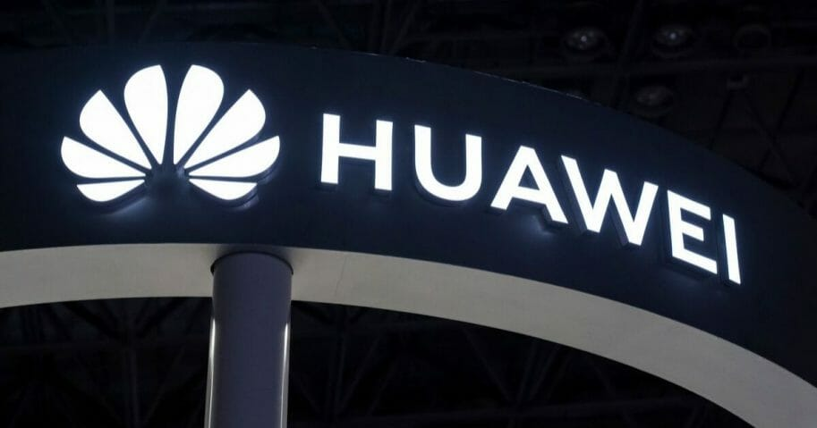 The Huawei Technologies Co. logo