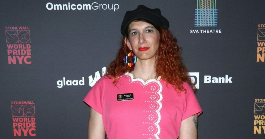 Brianna Titone attends GameChangers - WorldPride NYC 2019 at SVA Theater on June 25, 2019, in New York City.