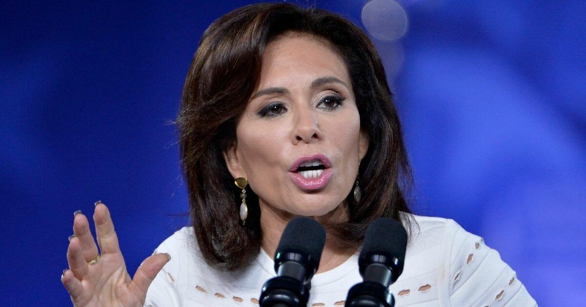 Conservative commentator Jeanine Pirro speaks at the Conservative Political Action Conference in National Harbor, Maryland, in February 2017.