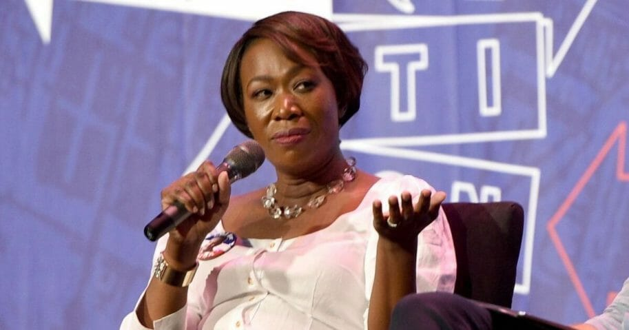 MSNBC host Joy Ried is pictured in a file photo from the Politicon convention in Pasadena, California, in July 2017.