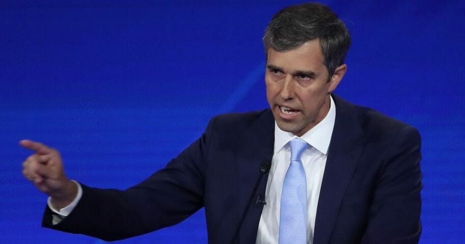 "Rep. Robert ""Beto"" O'Rourke at Thursday's Democratic debate in Houston."