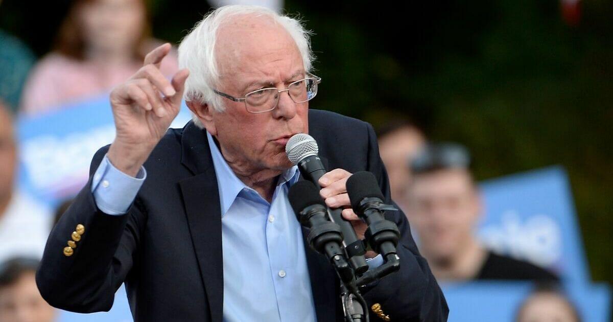 Sen. Bernie Sanders makes a campaign stop on Thursday at the University of North Carolina, Chapel Hill.