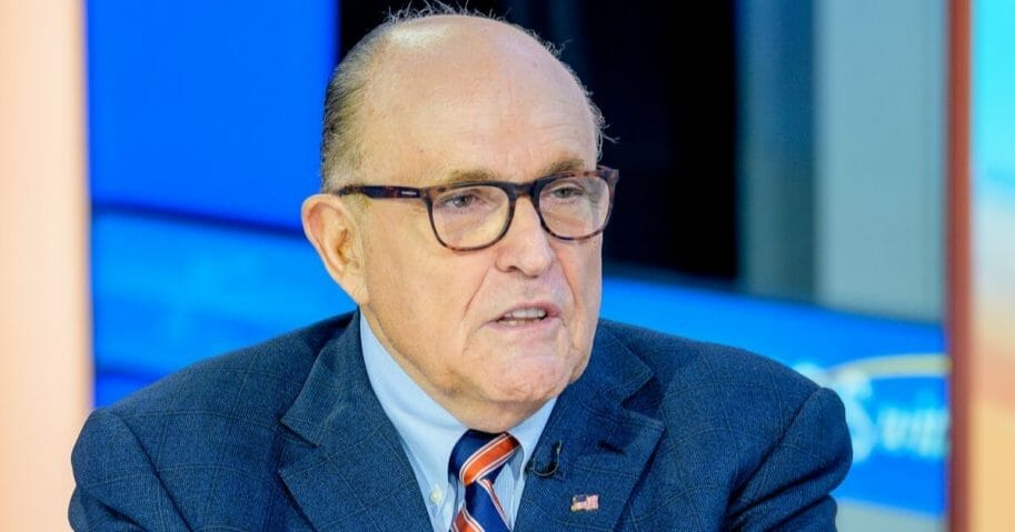 Former New York City Mayor and President Donald Trump's attorney Rudy Giuliani appears Sunday on Fox News.