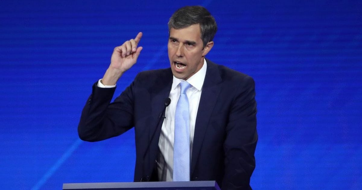 Beto Confirms He's Ready for War with US Citizens: 'Hell Yes We're Going To Take Your AR-15!'