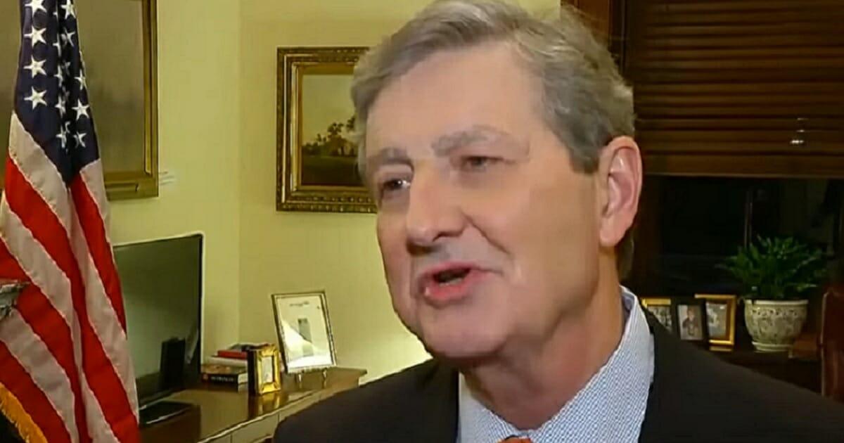 Louisiana Sen. John Kennedy from a Fox News interview in January.