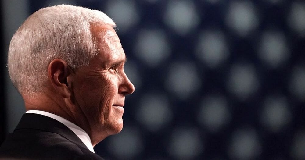 Vice President Mike Pence speaks at Taylor University Commencement May 18, 2019