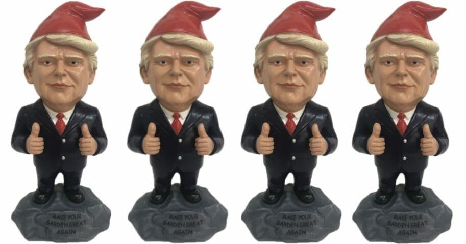 Donald Trump Garden Gnomes