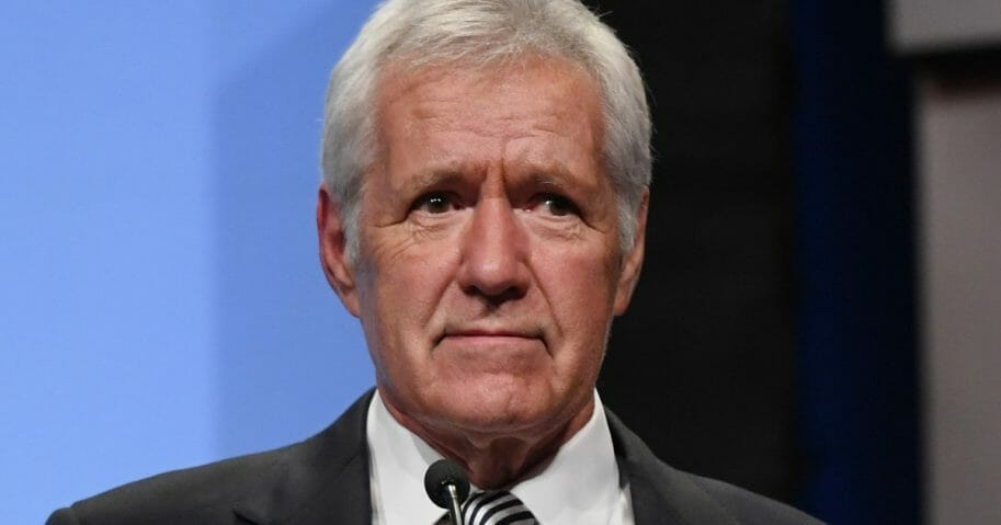"""Jeopardy!"" host Alex Trebek."