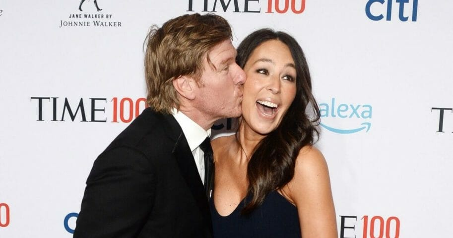 Chip Gaines and Joanna Gaines attend the TIME 100 Gala 2019 Lobby Arrivals at Jazz at Lincoln Center on April 23, 2019, in New York City.