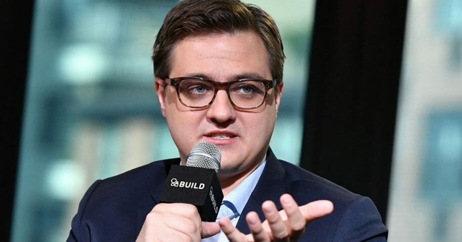 MSNBC host Chris Hayes on Nov. 1, 2016, in New York City.