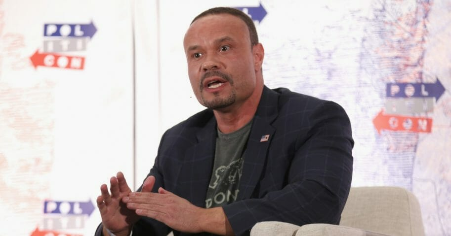 Dan Bongino speaks onstage during Politicon 2018 at the Los Angeles Convention Center on Oct. 21, 2018, in Los Angeles, California.
