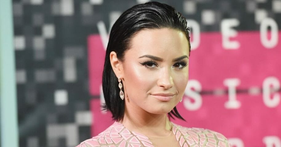 Singer Demi Lovato attends the 2015 MTV Video Music Awards at Microsoft Theater on Aug. 30, 2015, in Los Angeles, California.