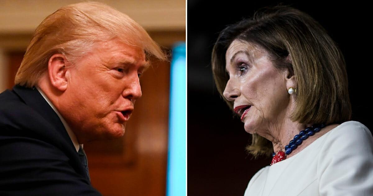 President Donald Trump and House Speaker Nancy Pelosi.