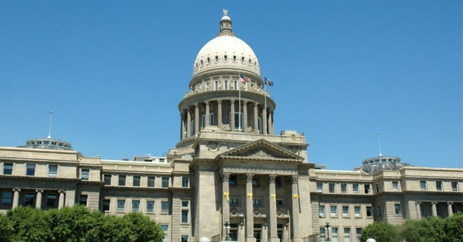 Idaho State Capitol Building.