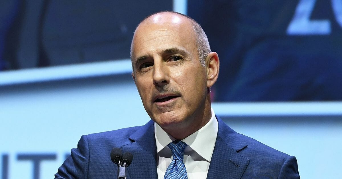 Matt Lauer attends 2017 Matrix Awards at Sheraton New York Times Square on April 24, 2017, in New York City.