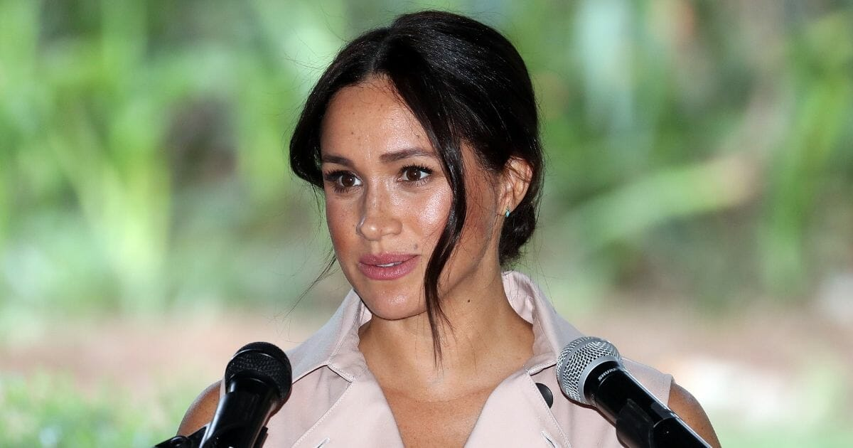 Meghan, Duchess of Sussex attends a Creative Industries and Business Reception on Oct. 2, 2019, in Johannesburg, South Africa.