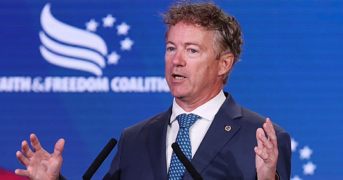 Rand Paul Defends Trump's Syria Pullout, Compares It to Similar Move by Reagan