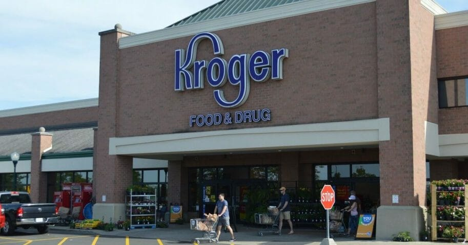 A Kroger grocery store in Columbus, Ohio.