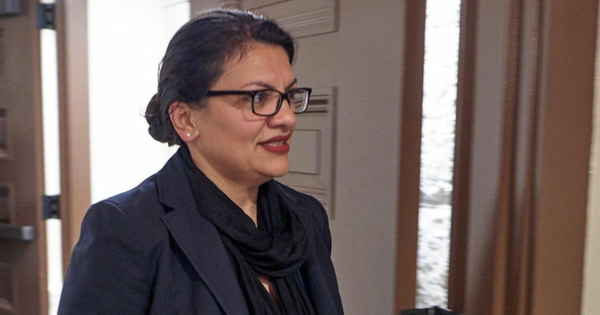 U.S. Rep. Rashida Tlaib, pictured in a file photo from August.