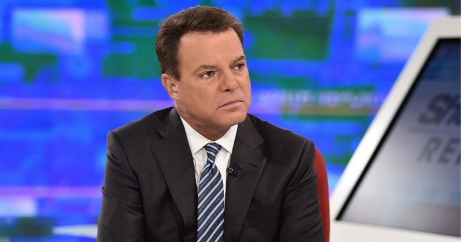 Now-former Fox News anchor Shepard Smith is pictured in a file photo from September.