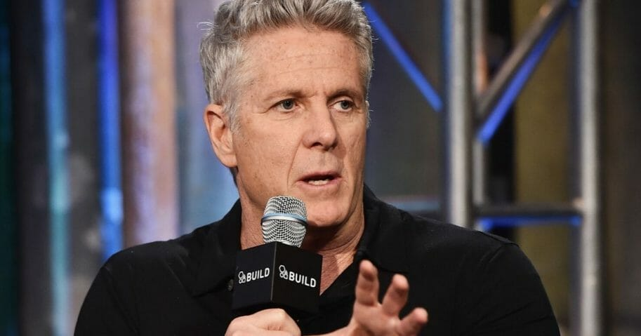 "Now-MSNBC commentator Donny Deutsch is pictured in a November 2015 file photo taking part in the AOL BUILD Speaker Series: ""Donny!"""